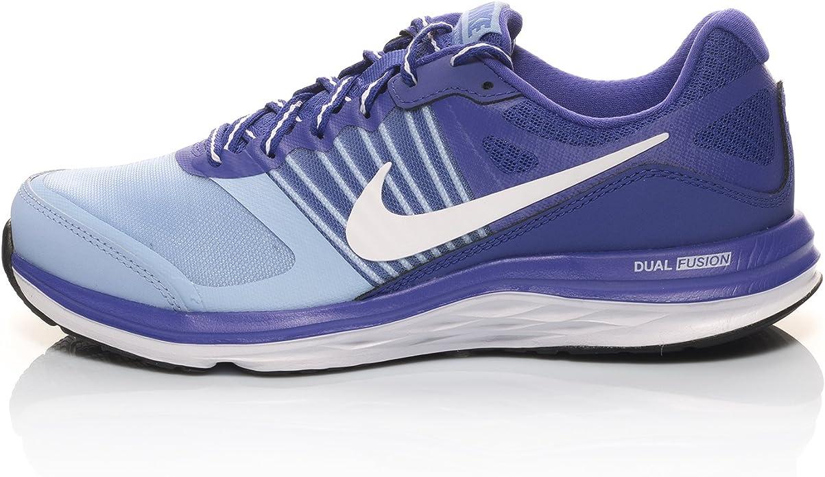 NIKE Wmns Dual Fusion X Zapatillas de Running, Mujer, Multicolor (Aluminum/White Persian Violet), 39: Amazon.es: Zapatos y complementos