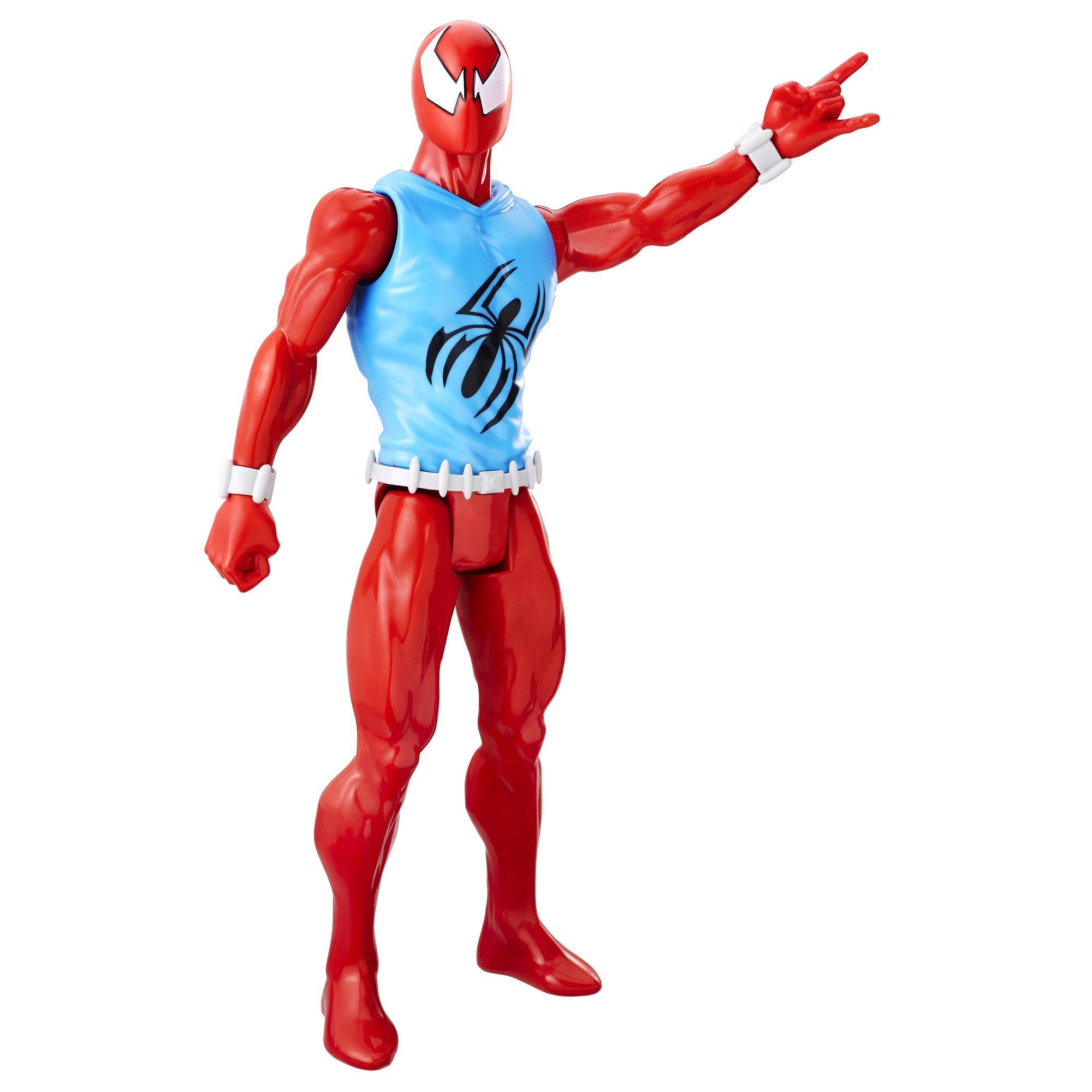 Marvel Spider Man Titan Hero Series Scarlet Spider Figure, Multi Color product image
