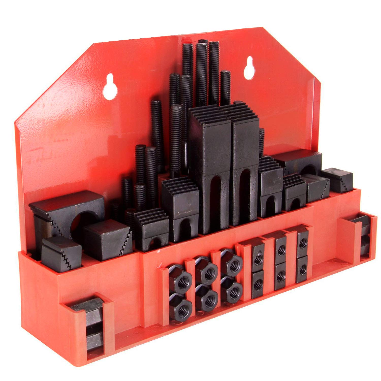 52 Pc ; 9//16 Slot ; 1//2-13 Stud Hold Down Clamp Clamping Set Kit for Bridgeport HFS Tm