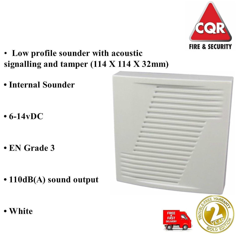 ris3 - Suministro y FIT mejor Risco híbrida IP con cable y inalámbrico sistema de alarma con pantalla táctil, 2 teclados, 6 PIRs, 2 BELLBOXES, ...