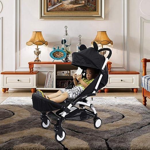 Amazon.com: Samber - Cochecito de bebé con reposapiés para ...