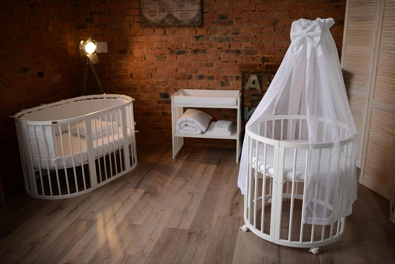Comfortbaby ® erweiterbares babybett kinderbett smartgrow 7in1 aus