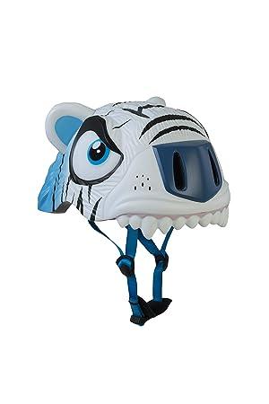 ANC Toys - Casco Infantil White Tiger/Tigre Blanco, 49/55