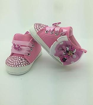 fournisseur officiel plusieurs couleurs trouver le travail personnalisé pour bébé fille Minnie Mouse Chaussures Taille ...