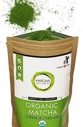 Matcha Green Tea Powder Superior Culinary Usda Organic From Japan Energía Natural Y Focus Booster Lleno De Antioxidantes Bolsa De Valor De 3 53 Oz Amazon Com Grocery Gourmet Food