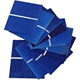 Aoshike 100pcs 39 x 31.2mm/1.5x1.2inch Polycrystalline Silicon Solar cell Panel DIY Charger Battery micro mini Solar Panel DIY solar module 0.5V 0.2W 0.4A