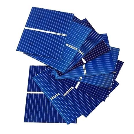 aoshike 100pcs 39 x silicon solar cell panel