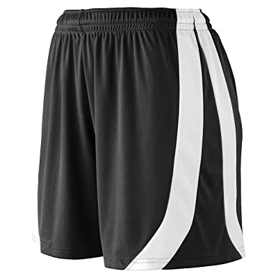 Augusta Sportswear Girls triumph short - BLACK/WHITE - S