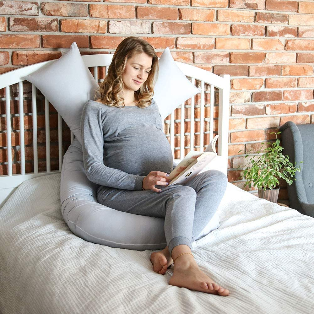 Lagerungskissen Schwangerschaft MAMANDU U-Kissen f/ür Schwangere Lagerungskissen Schwangerschaft Schwangerschaftskissen U-f/örmiges Kissen Schwangerschaftskissen zum Schlafen White, 140 x 78 cm