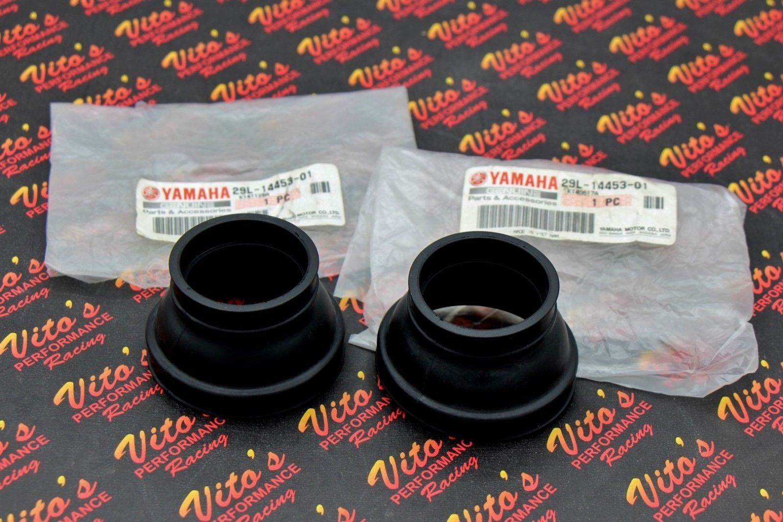 Vito's Performance 2 x New Yamaha Banshee 350 airbox Rubber Boots OEM Factory Stock 1987-2006 by Vito's Performance (Image #1)