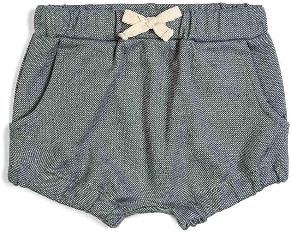 Denim Milkbarn Baby Pocketed Bloomer Shorts
