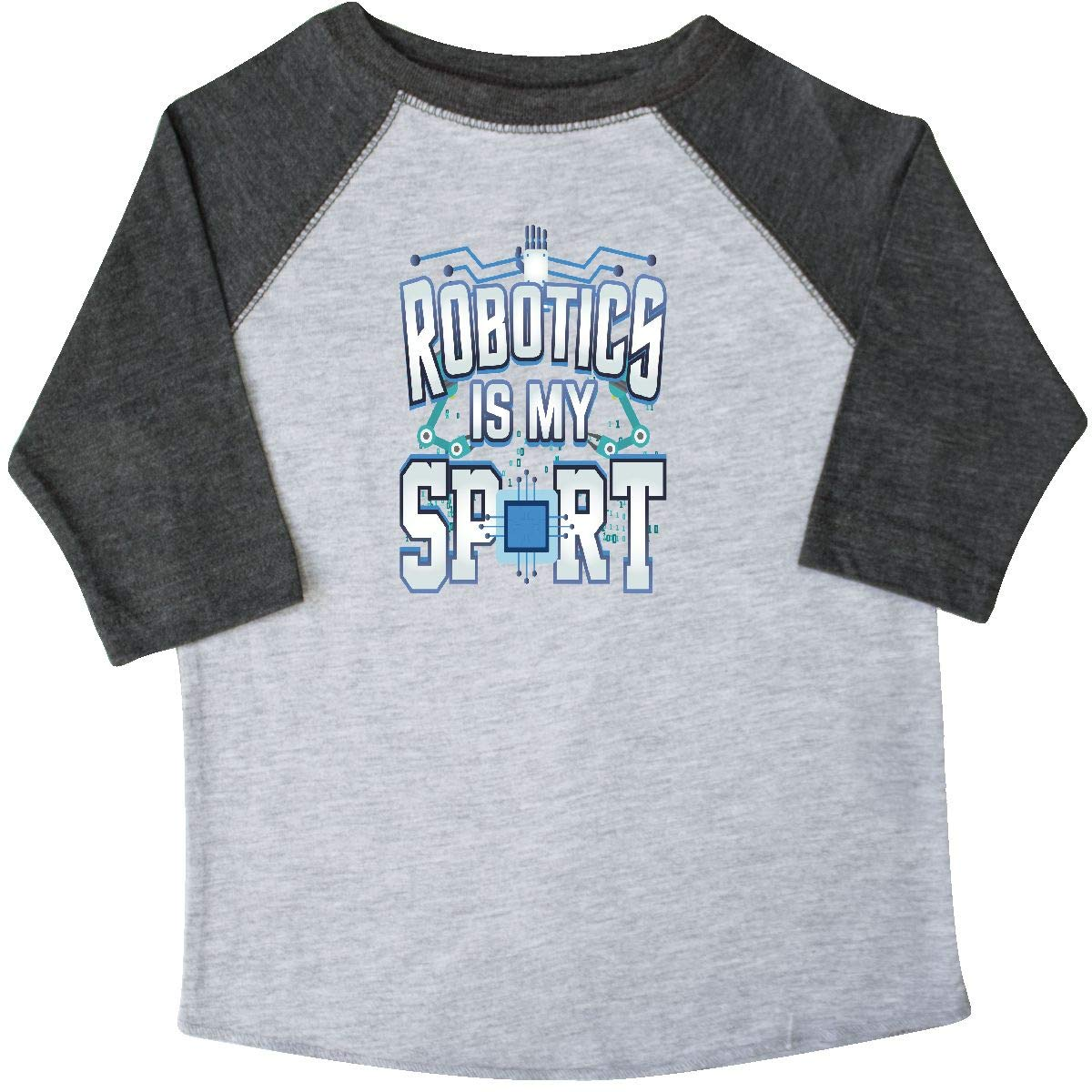 02ba06c5 Amazon.com: inktastic - Robotics is My Sport Funny Engineering Toddler T- Shirt 33620: Clothing