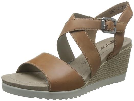 Women's Buckle Wedge Sandal (D3452-20)