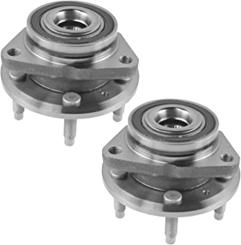 Rear Wheel Bearing /& Hub Assembly LH RH Kit Pair Set of 2 for Chevy Cruze