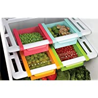 TRENDY Refrigerator Plastic Storage Fridge Racks Tray Selves Shelf