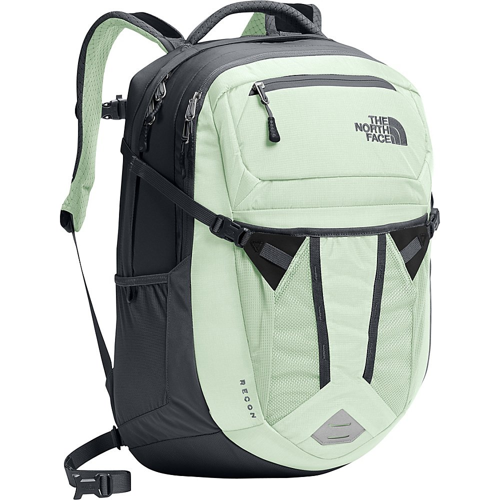 The North Face Women's Recon Backpack - Subtle Green & Asphalt Grey - OS