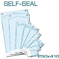 Bolsa esterilizadora autoadhesiva para autoclavos, 200 unidades, 250