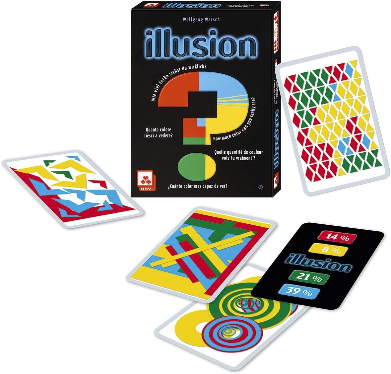 NSV - 4065 - Illusion - International - Juego de Cartas: Amazon.es: Juguetes y juegos