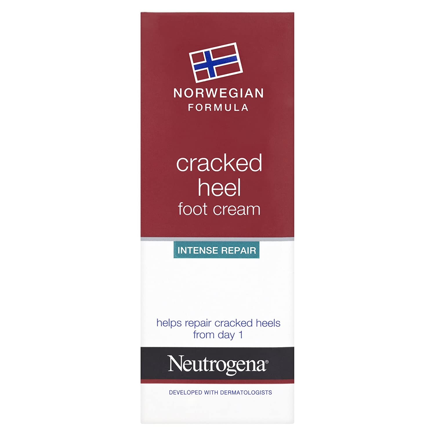 Neutrogena Norwegian Formula Cracked Heel Intense Repair Foot Cream, 40ml Johnson & Johnson 4485201