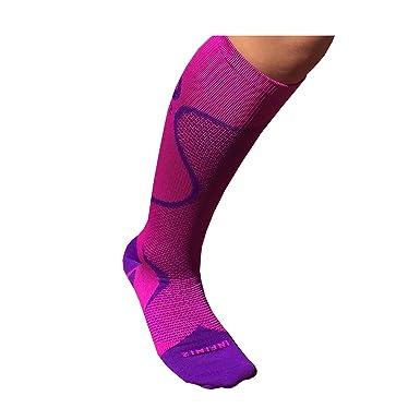 infini2 compresión calcetines - calcetines de compresión para mujer - 201Dama, Púrpura rosa: Amazon.es: Deportes y aire libre