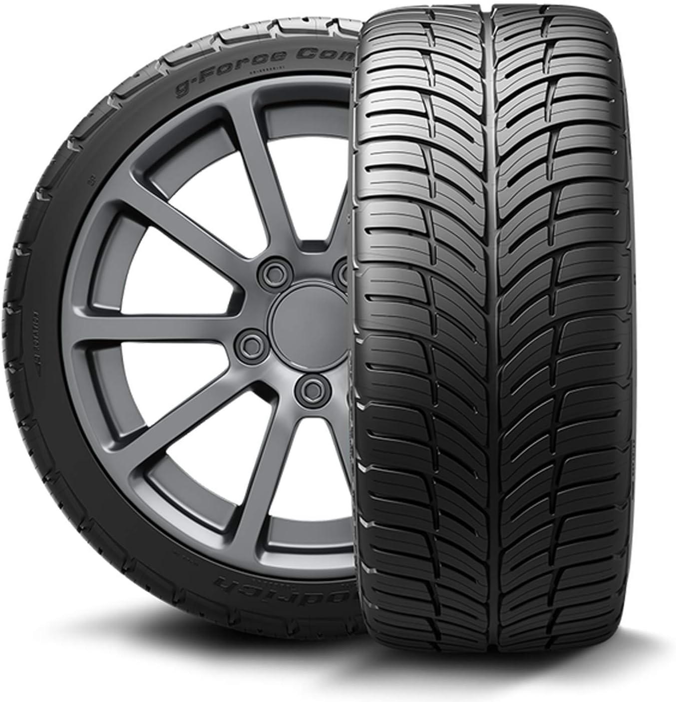 BFGoodrich g-Force COMP-2 A//S Plus Performance Radial Tire-225//55ZR17 97W