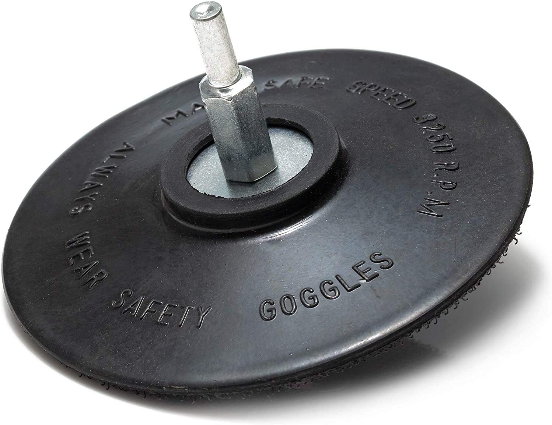 DIY & Tools Sanding Disc Backing Pads Glass Polish 12738 Rigid ...
