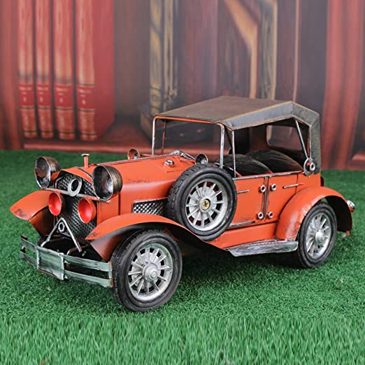 Jeep Modelo Retro del Coche De Metal Classic Cars Estatua De ...