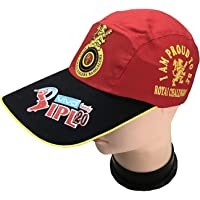 Onlinese ipl caps for Men (rcb caps ipl) Red