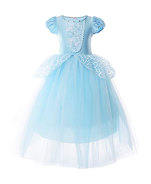 Amazon.com: JerrisApparel Disfraz de princesa para niña ...