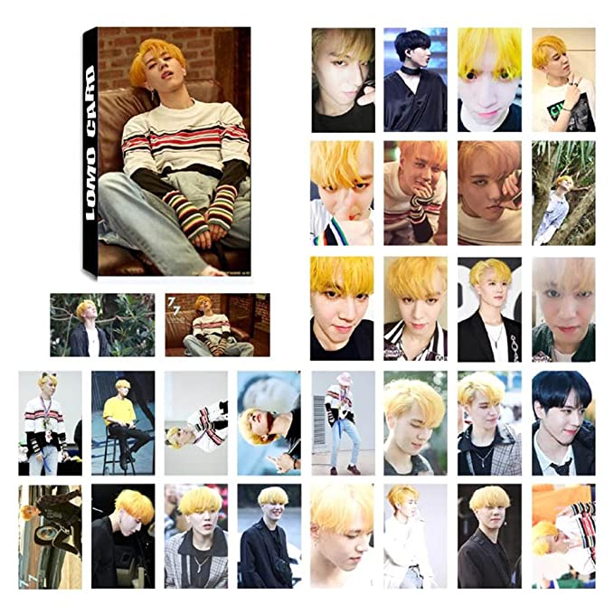 ideal como regalo para los fans I GOT7 /Álbum de fotos Skisneostype KPOP GOT7 Lomo