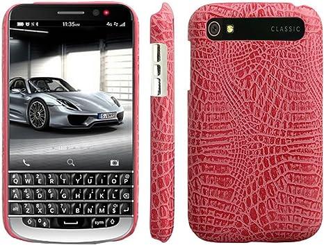 HualuBro Blackberry Classic - Funda de Piel sintética para ...