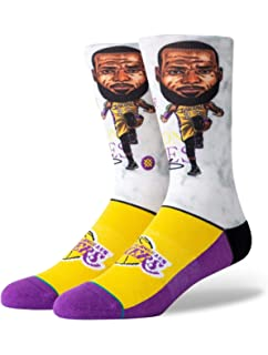 Stance NBA Golden State Warriors Curry Big Head Calcetines Hombre ...