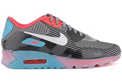 meet 310e4 87fa4 Nike Men s Air Max 90 KJCRD Ice QS Grey Black Blue 744553-001