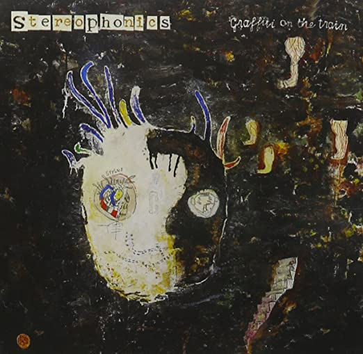 Album art exchange graffiti on the train by stereophonics.