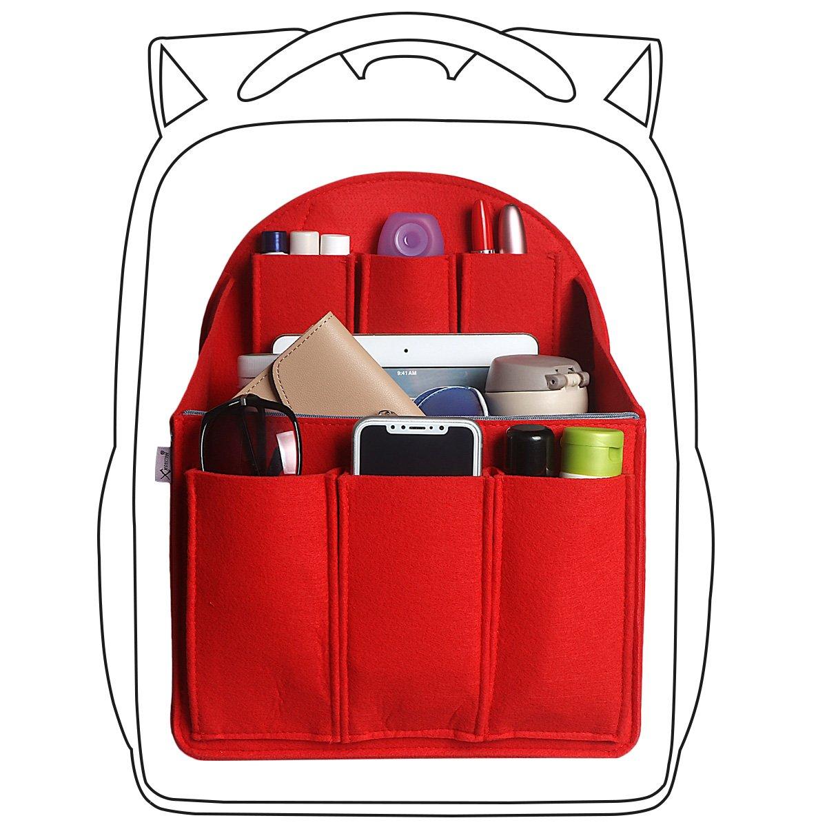 xhorizon SR Purse Organizer Insert Purse Handbag Tote Bag,Bag in Bag Organizer by xhorizon (Image #1)