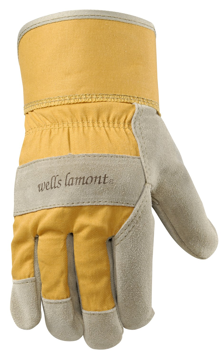 Wells Lamont 4113S Women'S Suede Leather Palm Work Gloves, Small by Wells Lamont