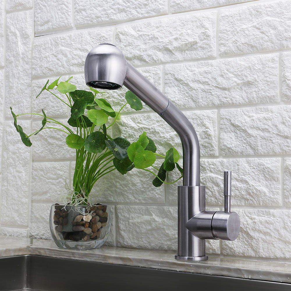 LDR 952 52445CP Exquisite Laundry Faucet Pullout Spout Lifetime