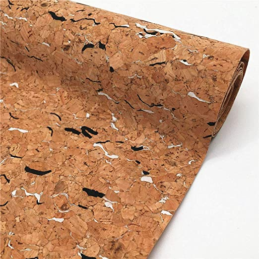 Cork Fabric With Glitter by the Half metre