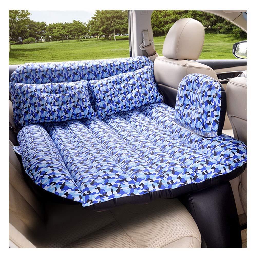 F  voiture Air Mattress Matelas Gonflable de Voiture, Matelas pneumatique réglable Universel de Sofa de Camping Gonflable de Camping de Voiture s'assemblant de Voiture avec Le compresseur, 139  88cm