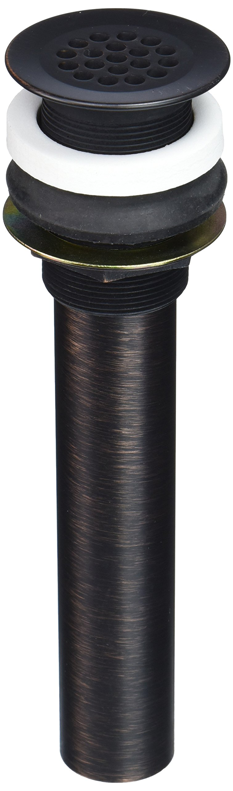 Jones Stephens D7010WB Old World Bronze Lavatory Drain without Overflow
