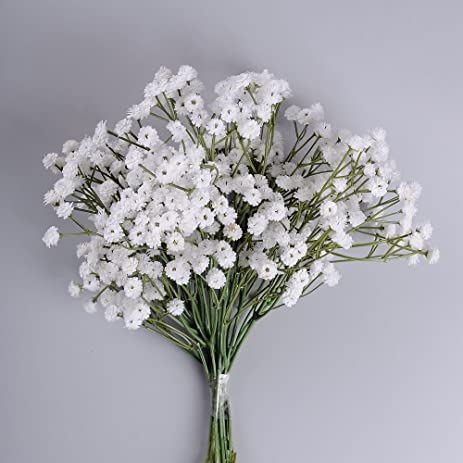 Amazon supla 6 stems real touch white gypsophila babys breath supla 6 stems real touch white gypsophila babys breath babybreath baby breath faux baby breath mightylinksfo