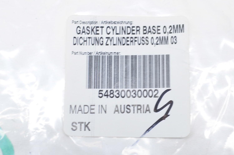 OEM KTM 54830030002 Base Cylinder Gasket NOS