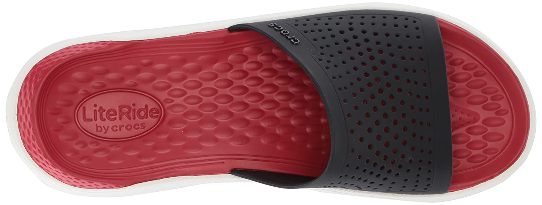 Crocs Unisex LiteRide Slide B074F7KZJN 9 US Men/ US|Black/White 11 US Women M US|Black/White Men/ 8a2dec