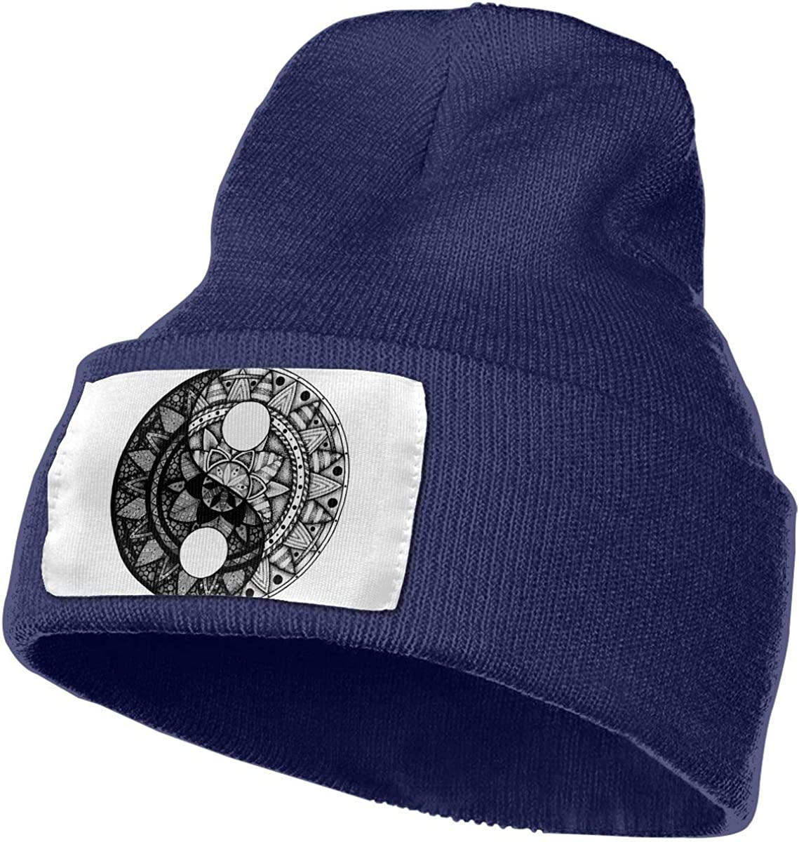 Yin and Yang Art Unisex Fashion Knitted Hat Luxury Hip-Hop Cap