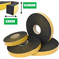 Guidetti Service - Junta adhesiva negra de 5mm