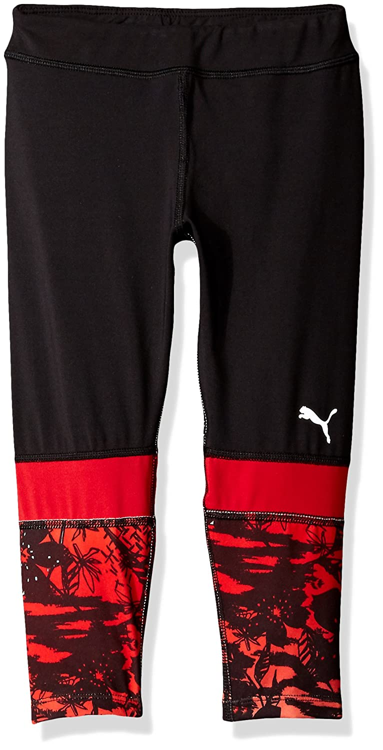 PUMA Girls' Cropped Tights with Print 61163121