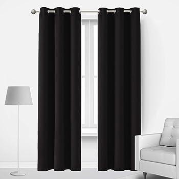 Deconovo 42x84 Inch Blackout Curtains