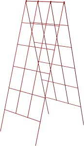 Panacea A-Frame Plant Supports, Red, 48