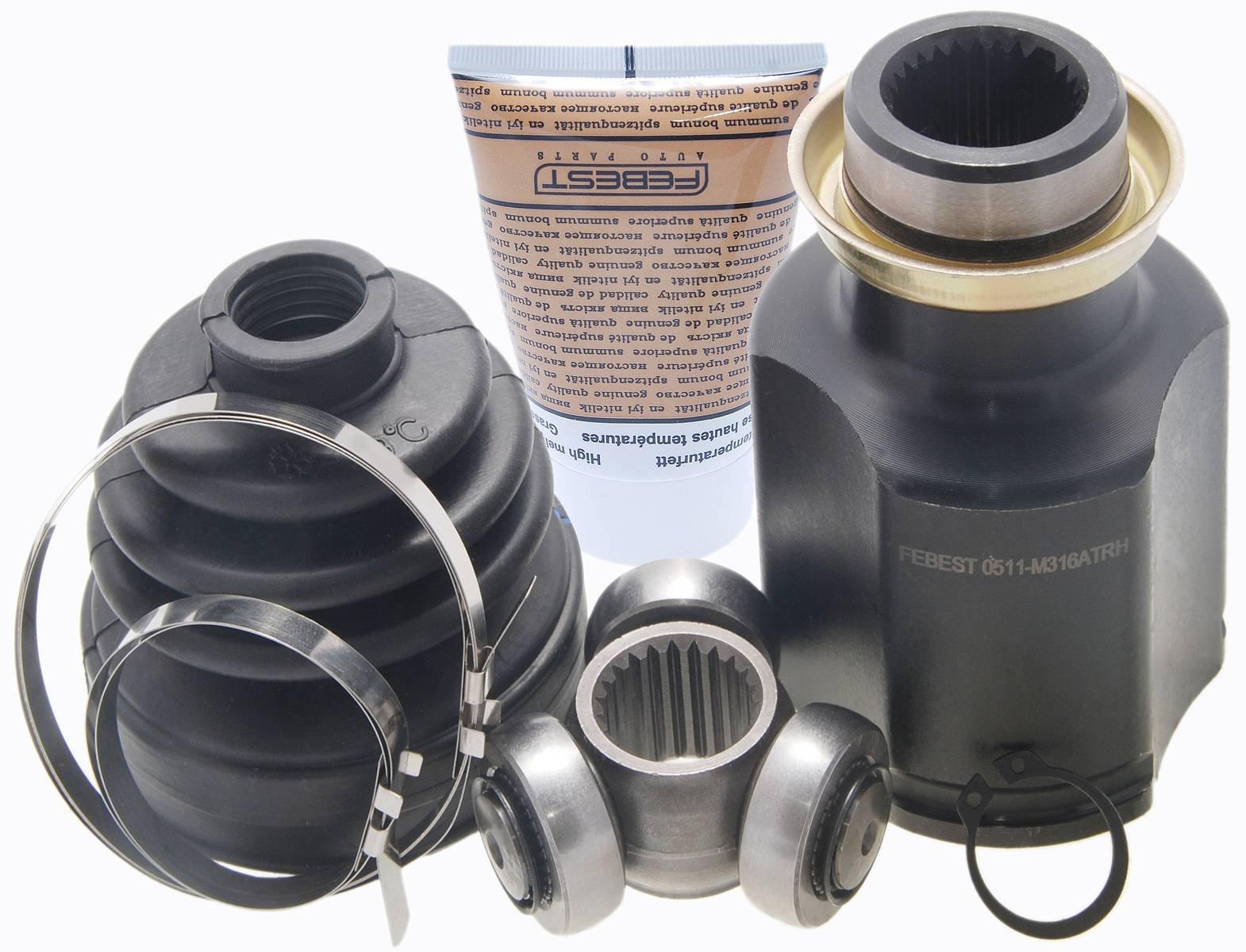 Fg3225500 - Right Inner CV Joint 22X43X28 For Mazda - Febest