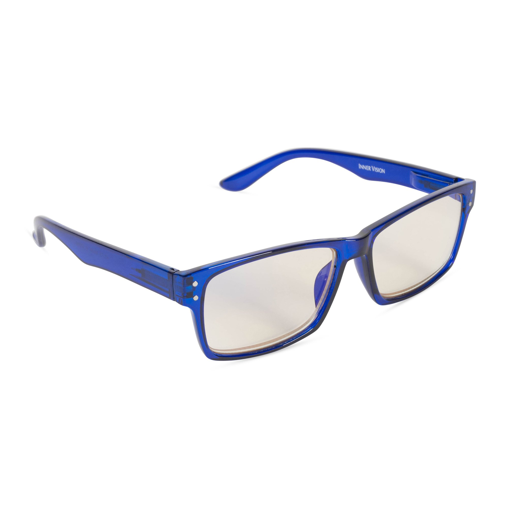 4e3015cb2be Inner Vision Eye Strain Relief Computer Screen Glasses w Case - Anti Blue  Light